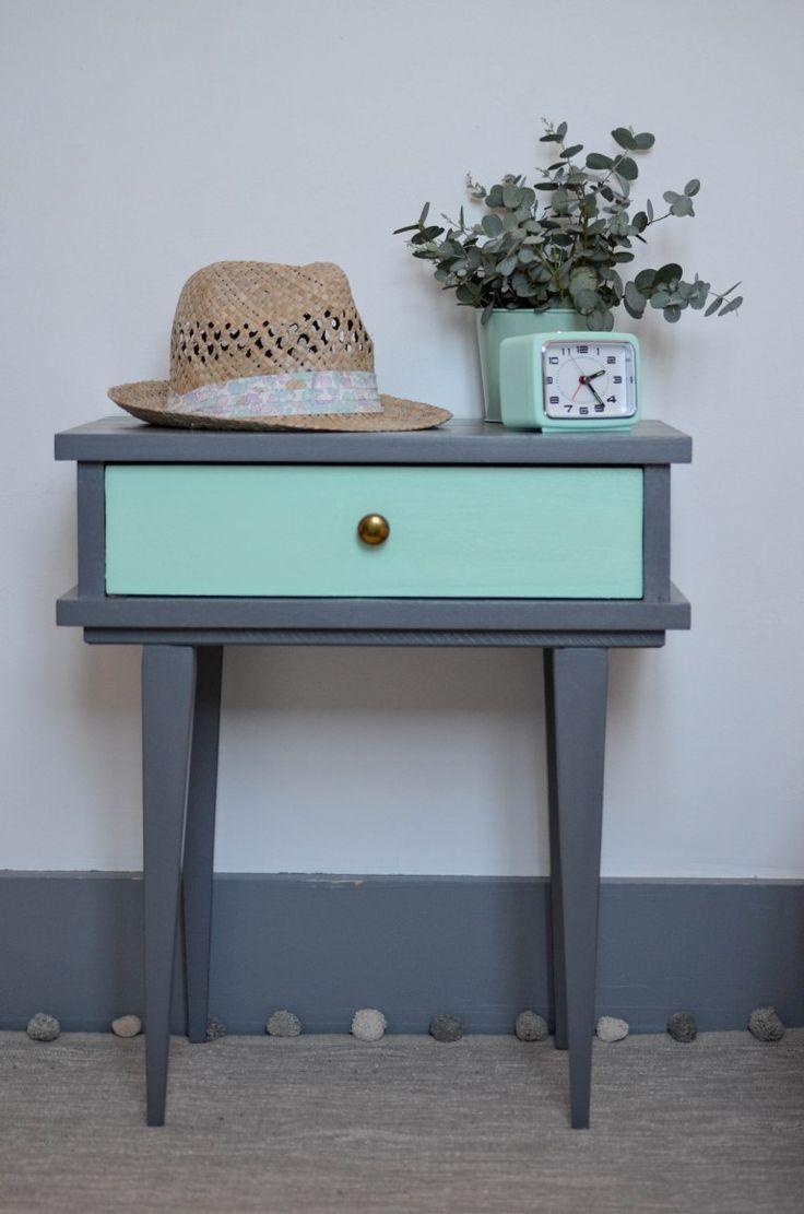 17 melhores ideias sobre repeindre un meuble no pinterest - Petit meuble metallique ...