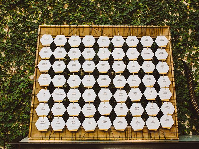 Modern Black White And Gold Foil Wedding Invitations