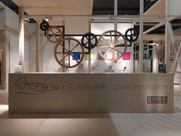 Reception of our booth at #Eurocucina 2014: Sustainability driven Innovation