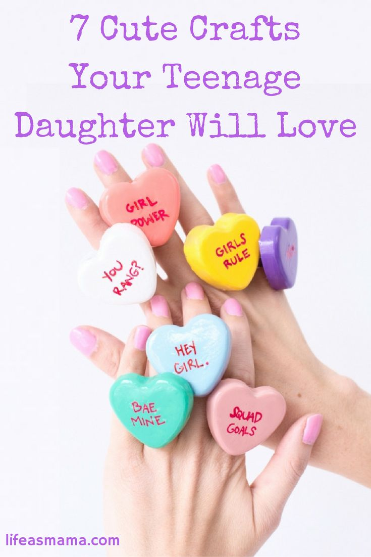7 cute crafts your teenage daughter will love diy