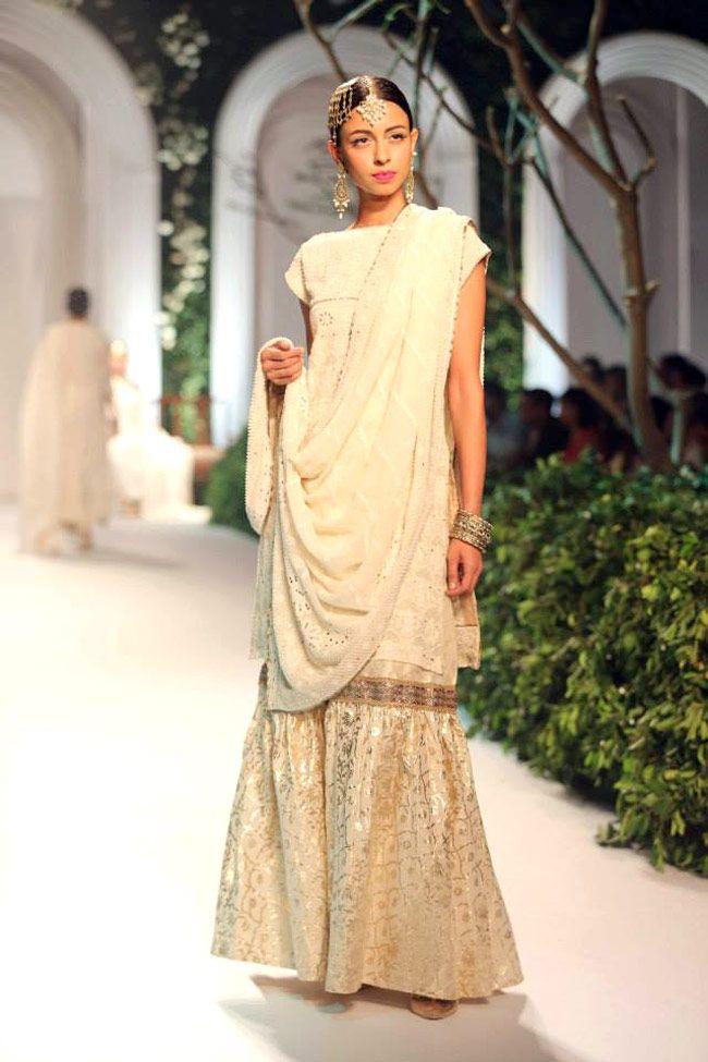 KOTWARA by Meera & Muzaffar Ali https://www.facebook.com/media/set/?set=a.481943335158120.111478.146357585383365=3 @ Aamby Valley India Bridal Fashion Week 2013