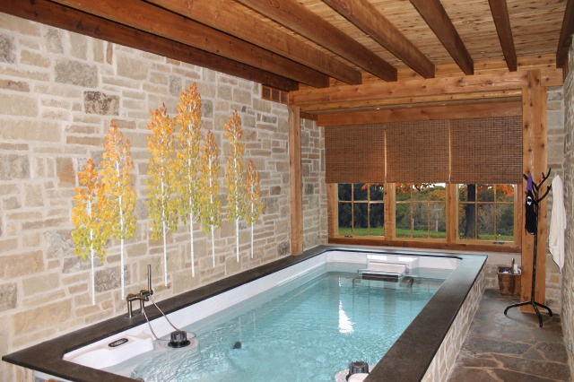 92 best swim spa images on pinterest swimming pools for Swim spa in garage