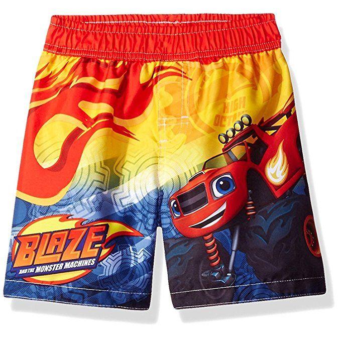 Yellow//Blue, 2T Nickelodeon Toddler Boys Teenage Mutant Ninja Turtles Swim Trunk