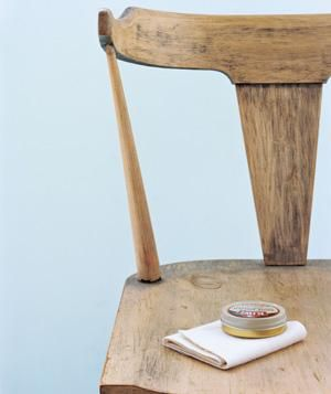 Shoe Polish as Furniture Polish | Spruce up wood furniture by filling in scratches with shoe polish in a similar shade.