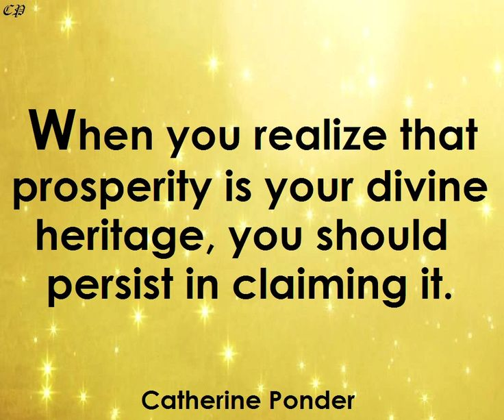 132 best catherine ponder images on pinterest positive when you realize that prosperity is your divine heritage you should persist fandeluxe Choice Image