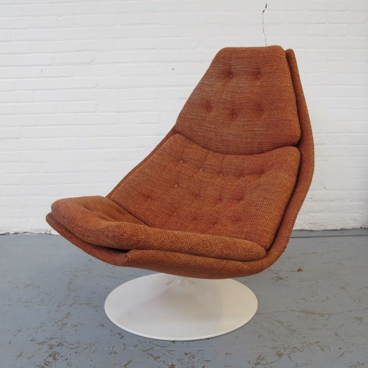 F587 lounge chair by Geoffrey Harcourt for Artifort, 1970s
