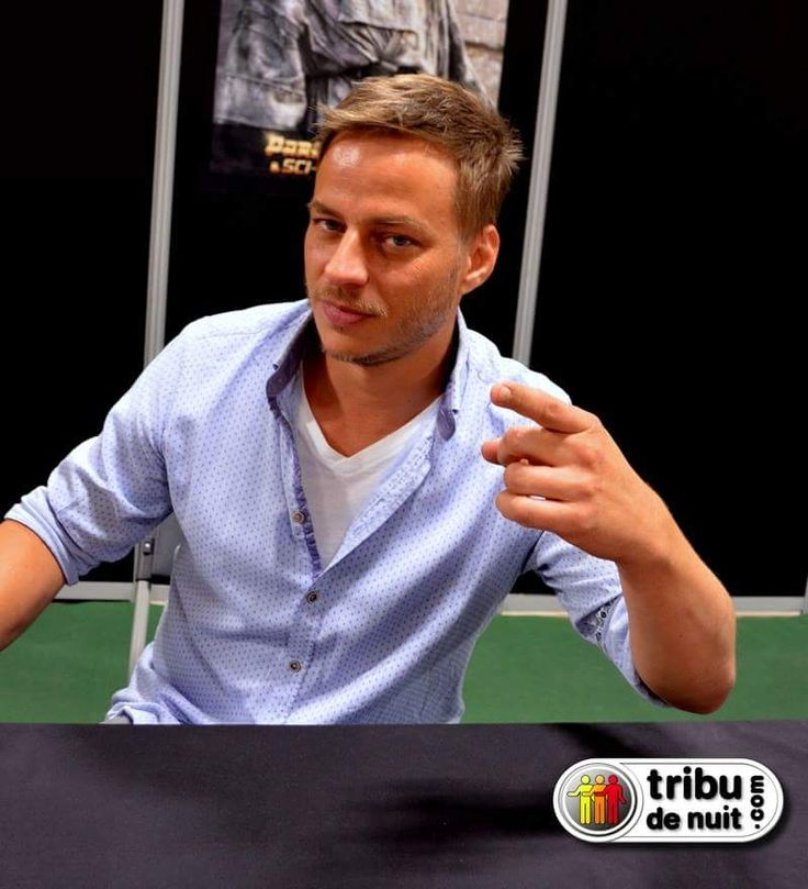 Tom Wlaschiha at the Sci-fi show in 2015 From tribu de nuit