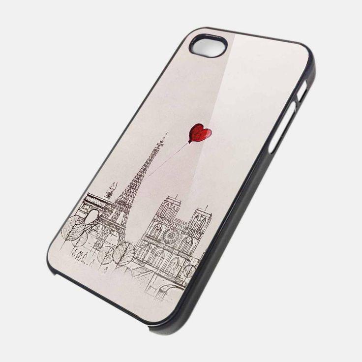 paris eifel love case cover for iPhone 4