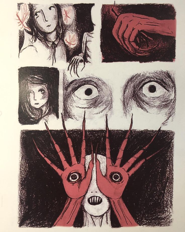 Page 4  This week choose a movie scene from a film and illustrate it from memory.  So here we go, here's my retelling of a very scary scene from 'Pan's Labyrinth'! #illustration #artist #character #art #sketch #girl #dark #lonely #blackandwhite #sketchbook #scary #story #graphicnovel #panslabyrinth #illustrator #guillermodeltoro #film #movie #fantasy #monster #fairy