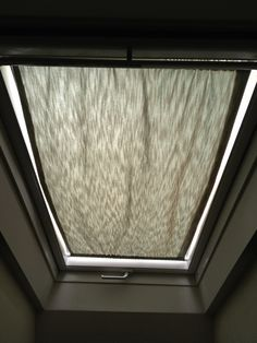 Skylight curtain - our bathroom gets plenty of light, but it gets so much sun that the small room seems like an oven at times. I need this curtain!