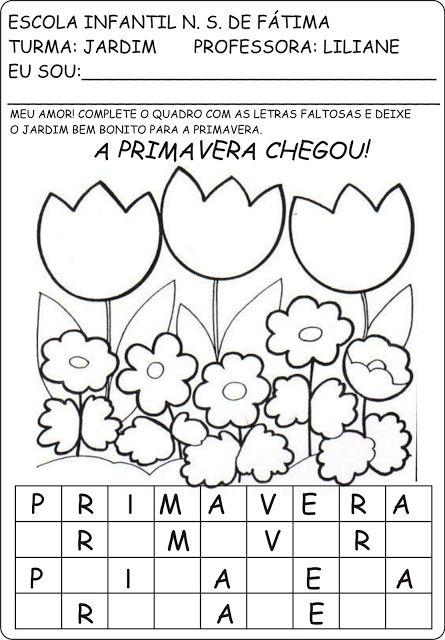 Amado 90 best PRIMAVERA images on Pinterest | Kid activities, Classroom  VR41