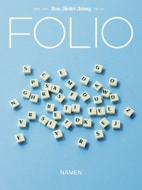 Folio magazine, April 2013