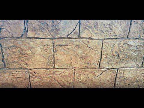 (221) Греческий ДЕКОРАТИВНЫЙ камень из ПЛИТОЧНОГО клея - YouTube