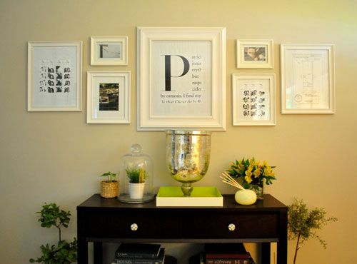 45 best FOYER images on Pinterest | DIY, Art walls and Decorating ideas