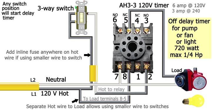 Ah3 Timer Wiring Timer Wire Delayed