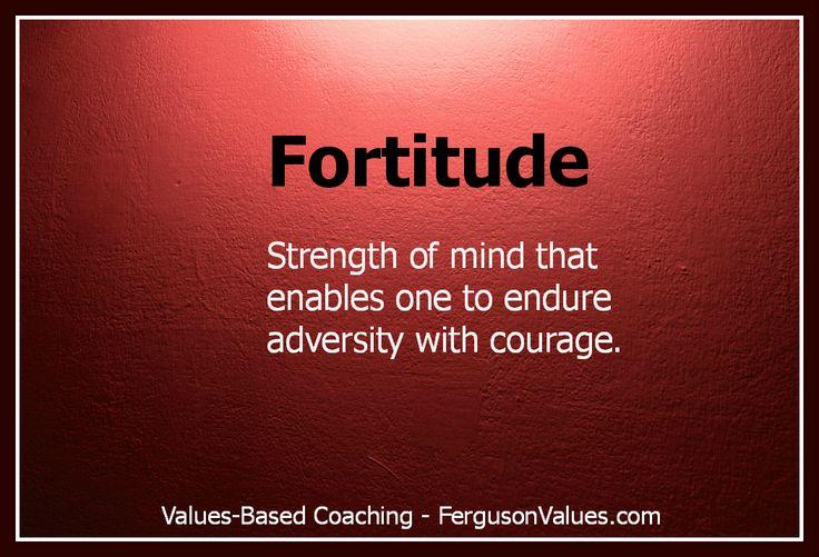 fortitude - Google Search