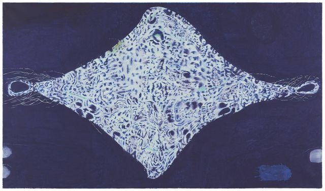 Hannu Väisänen, 'Kimono déchiré / Revitty kimono,' 2016. Oil on canvas