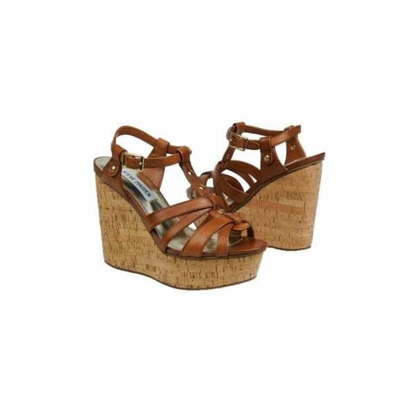 Steve Madden Cognac Women's Marcelaa Shoe