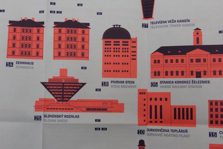 Na mape sú existujúce budovy a pamiatky, spolu ich je tam asi stovka, no Čierne diery rátajú aj s ďalšou edíciou. Foto - Čierne diery