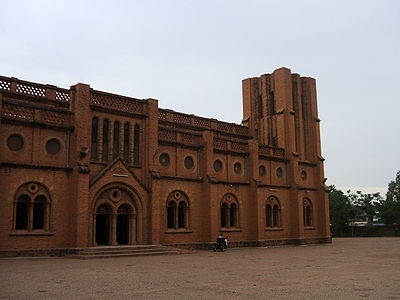 Cathedral in Ouagadougou, Burkina Faso Destination weddings Keywords: #burkinafasoweddings #jevelweddingplanning Follow Us: www.jevelweddingplanning.com  www.facebook.com/jevelweddingplanning/