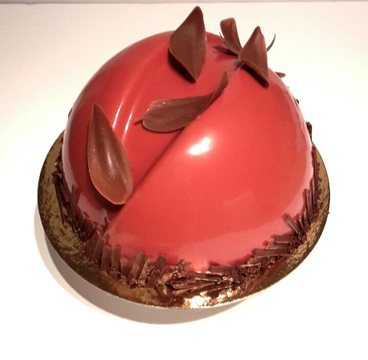 entrement mousse au fraise et chocolat