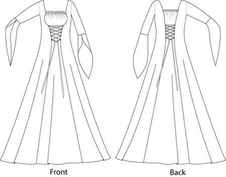 25 unique medieval dress pattern ideas on pinterest
