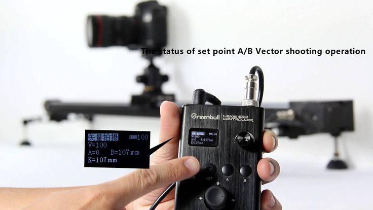 Greenbull Electronic Remote Camera Slider X6