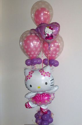 1092 best balloon decor images on pinterest balloon for Balloon arrangement ideas