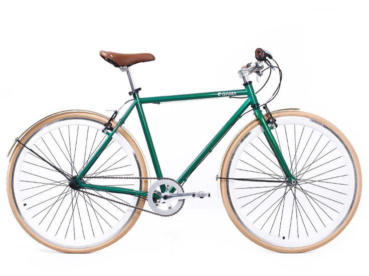 Alley Cat (Verde-Marfil) es parte de la #NuevaTemporadaGama y estará disponible pronto en gamabikes.com. #bici #bicicleta