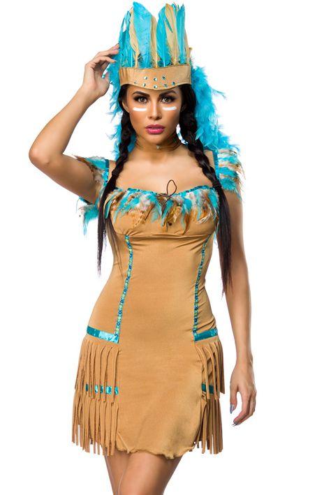 Indianerin Kostüm https://www.fancy-dresses.de/sexy-kostueme/fasching-halloween/cowboy-indianer/indianerin-kostuem