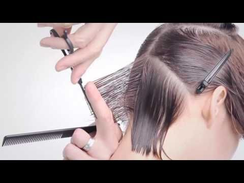Bob Haircut tutorial /Beauty Bob Cut / Peinado Bob / tutorial / como hacer / paso a paso - YouTube