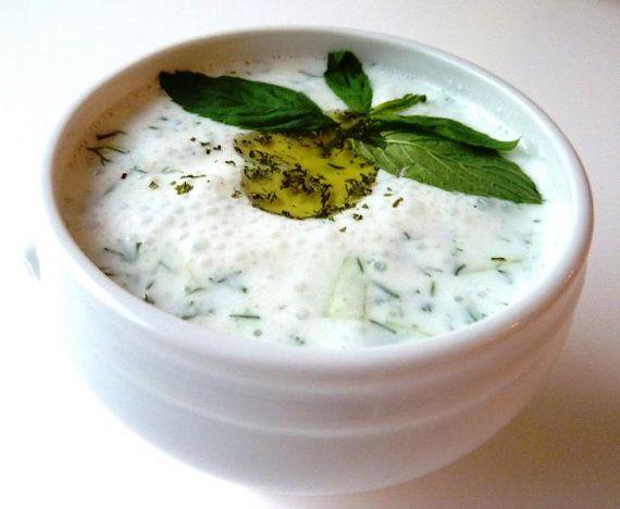 Cacik Cucumber and Yogurt Dip Recipe  PDF by TURKISHCUISINE, $1.50