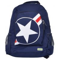 Bobble Art Star & Stripe Canvas Backpack www.mamadoo.com.au #mamadoo #bags #kidsbackpacks