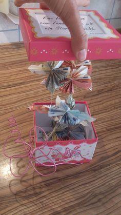 Alltag einer 2fach Mama: Geldgeschenk zur Hochzeit. DIY Idee für verstecktes Geldgeschenk fürs Brautpaar