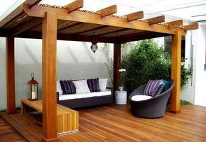 10 ideas de pérgolas para el jardín http://patriciaalberca.blogspot.com.es/