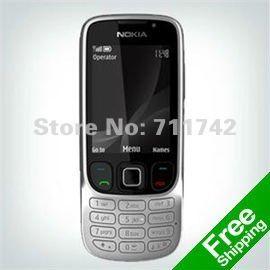Nokia 6303 разблокирована сотовые телефоны nokia 6303 мобильные телефоны bluetooth mp3 плеер Бесплатная Доставка