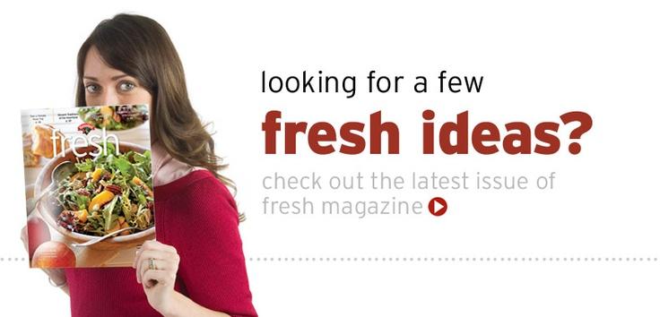 Hannaford Fresh Magazine