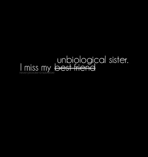 unbiological sisters foreverrr!!!! :) <3 uuuu!
