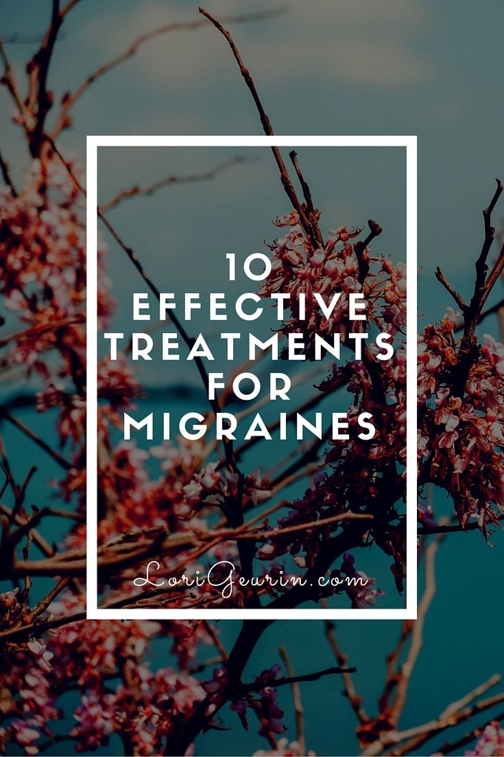 More than 90% of migraine sufferers aren't able to work or function during a migraine attack. A variety of treatments for migraines can help.