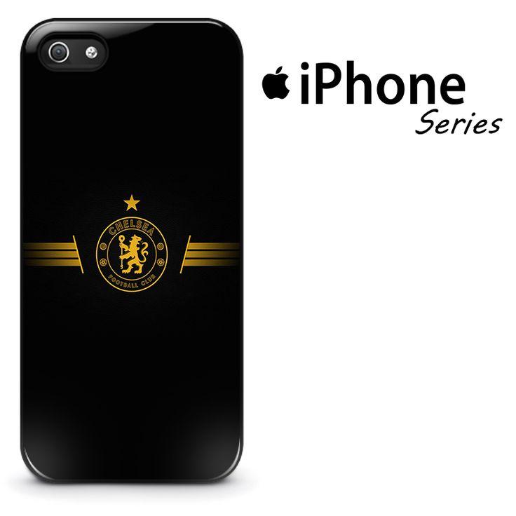 Chelsea Black Gold Logo Phone Case   Apple iPhone 4/4s 5/5s 5c 6 6 Plus Samsung Galaxy S3 S4 S5 S6 S6 Edge Samsung Galaxy Note 3 4 5 Hard Case