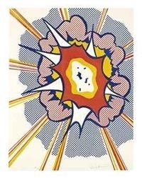 Roy Lichtenstein, Explosion, 1967, Pop Art