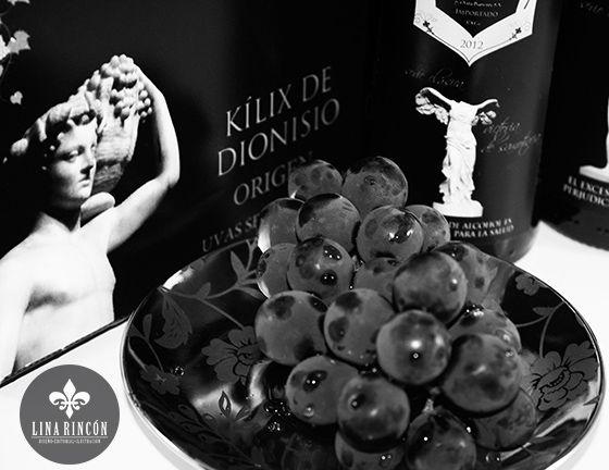 Project. Wine Branding.Kílix de Dionisio.