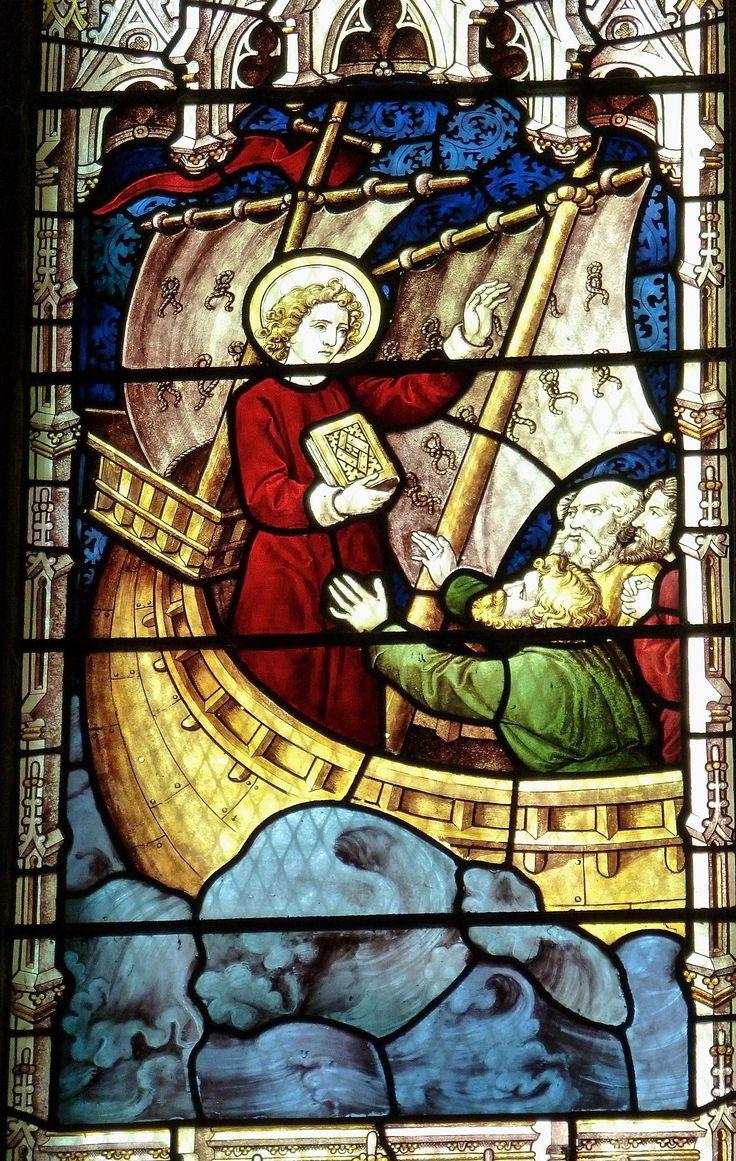 https://flic.kr/p/VtFuXC | Arundel - St Nicholas Church - Stained Glass | St Nicholas, Arundel, Sussex  The St Nicholas Window.