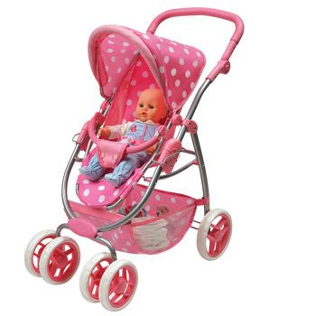 Costco: Six Wheel Doll Travel System Stroller and Carrier ...