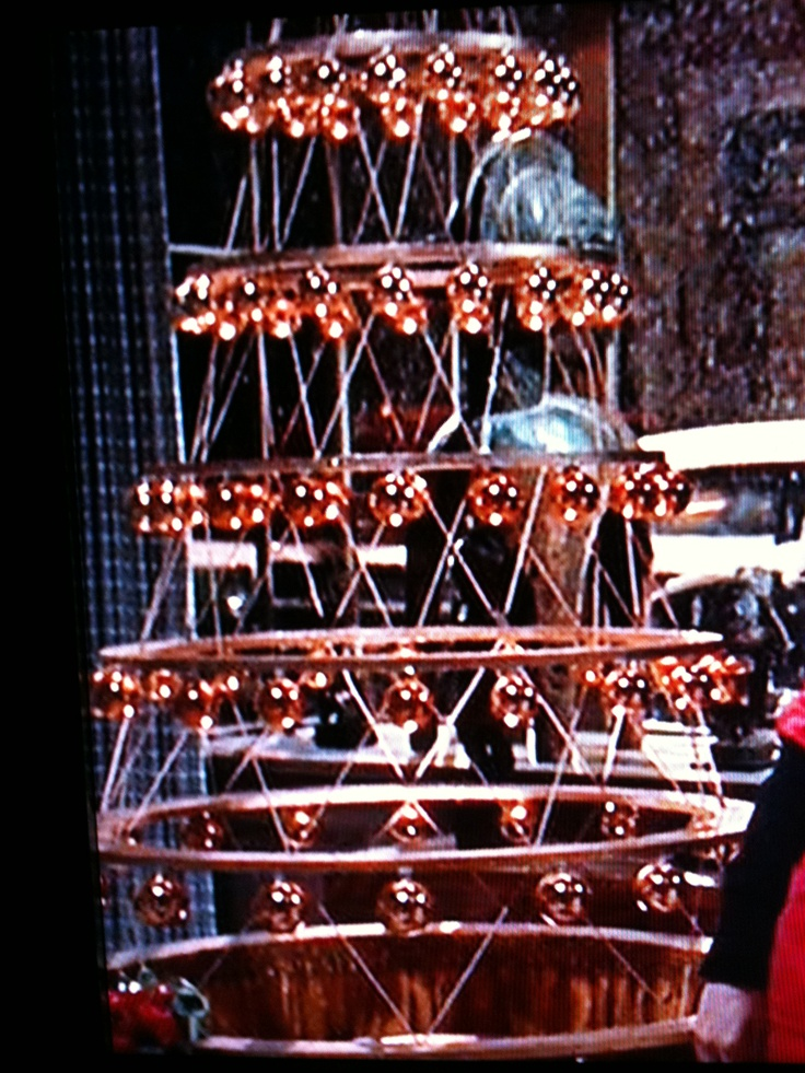 copper Christmas tree from the movie Bell Book and Candle | Christmas candles, Christmas ...
