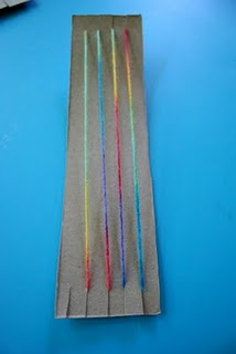Cereal Box Weaving: Homemade Looms!