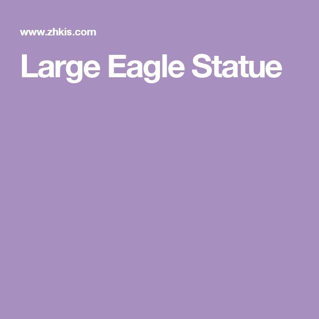 Large Eagle Statue