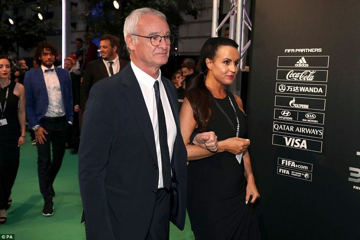 Nantes manager Claudio Ranieri has arrived atFIFA's The Best Awards following his side's 2-1 win over Guingamp on Saturday