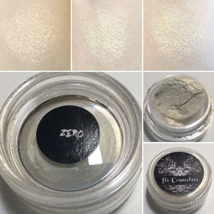 Ili Cosmetics Zero eyeshadow. Inspired by the Nightmare