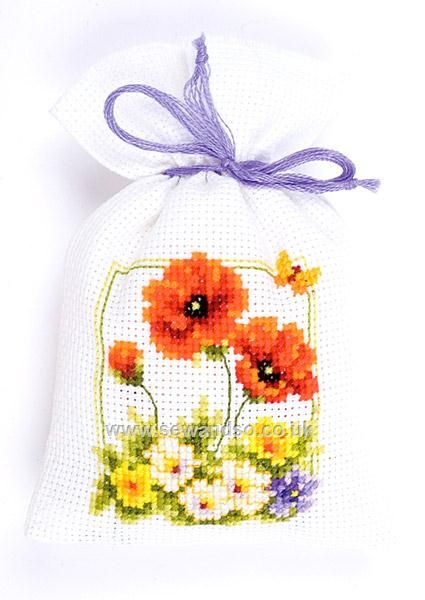 Shop online for Red Blooms Potpourri Bag Cross Stitch Kit at sewandso.co.uk. Browse our great range of cross stitch and needlecraft products, in stock, with great prices and fast delivery.
